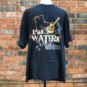 Pat Waters Signed w/ Chainlink Concert T-shirt
